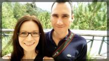 radość z przyjazdu do Bukit Tinggi